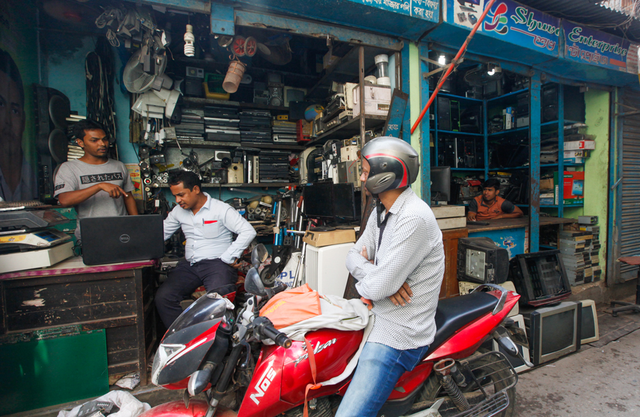 Treasure from trash: E-waste recycling in Bangladesh