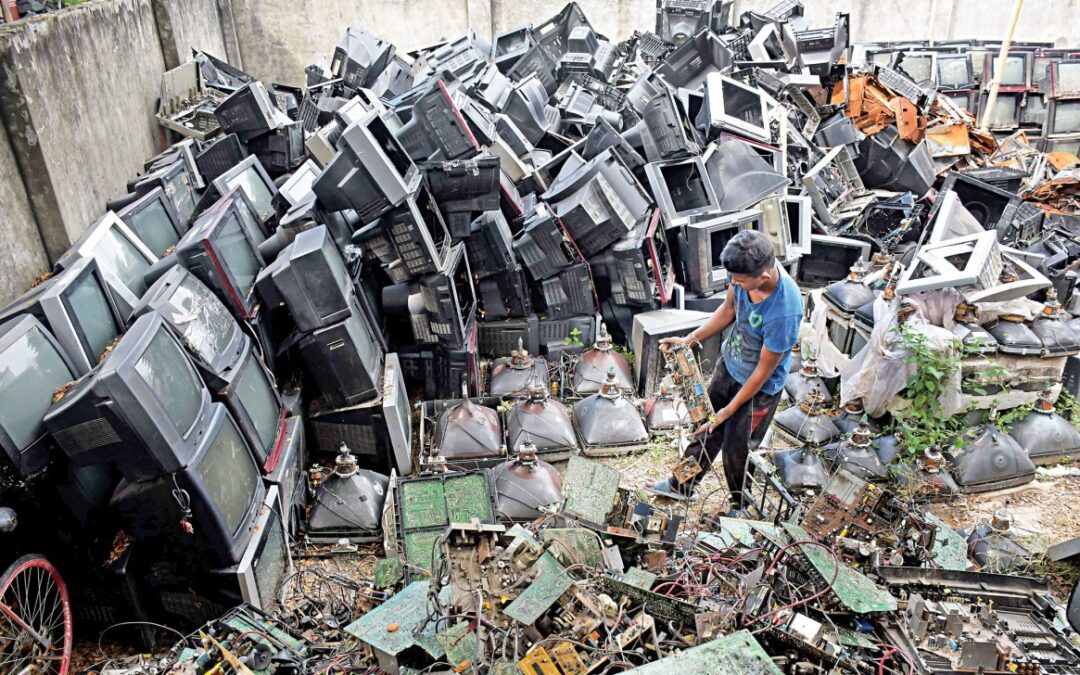 Potential of e-waste recycling remains untapped